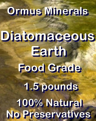 Ormus Minerals -Diatomaceous Earth (food grade)