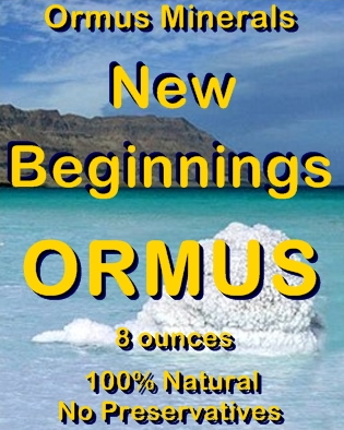 Ormus Minerals -New Beginnings Ormus