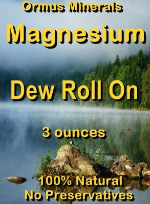 Ormus Minerals -Magnesium Dew Roll On